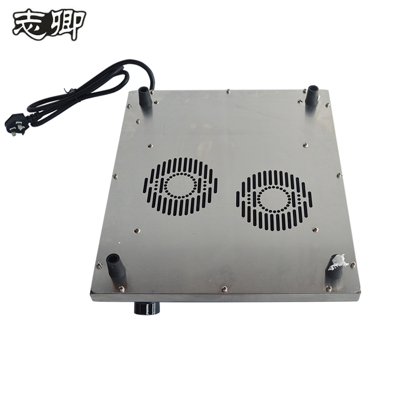 3500W high power concave electric frying furnace for stainless steel cooker