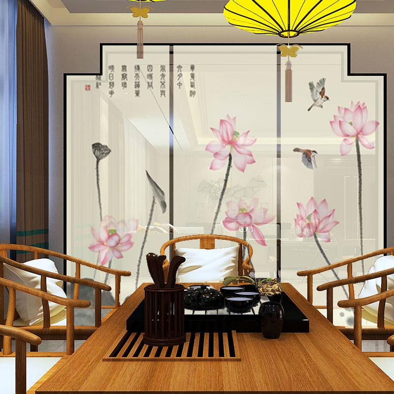 새로운 중국식 커튼 셔터 가리다 장식 커튼은 방을 거실 칸막이 커튼 걸려 커튼 커튼 사무실 병풍 커튼