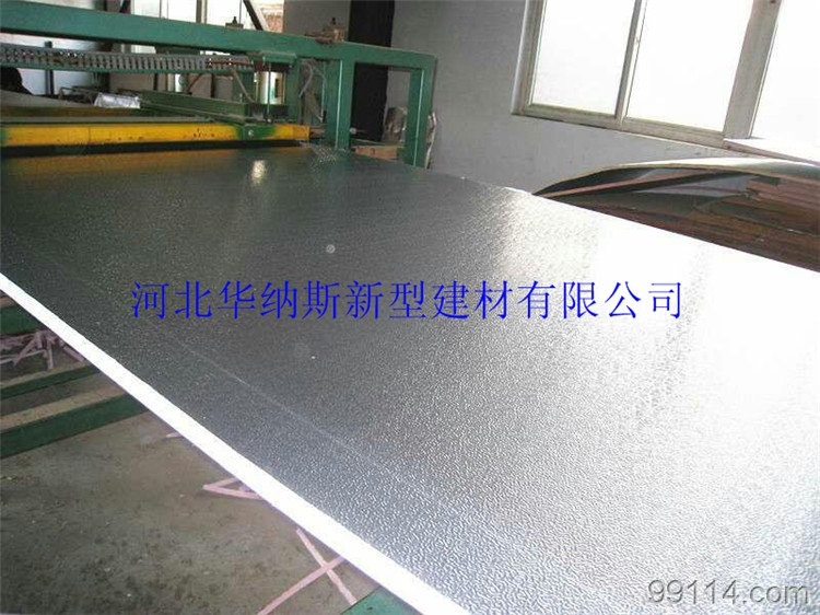 B1B2 grade polyurethane composite fire retardant cement base cloth, central air conditioner, air duct plate, aluminum foil outer wall insulation board