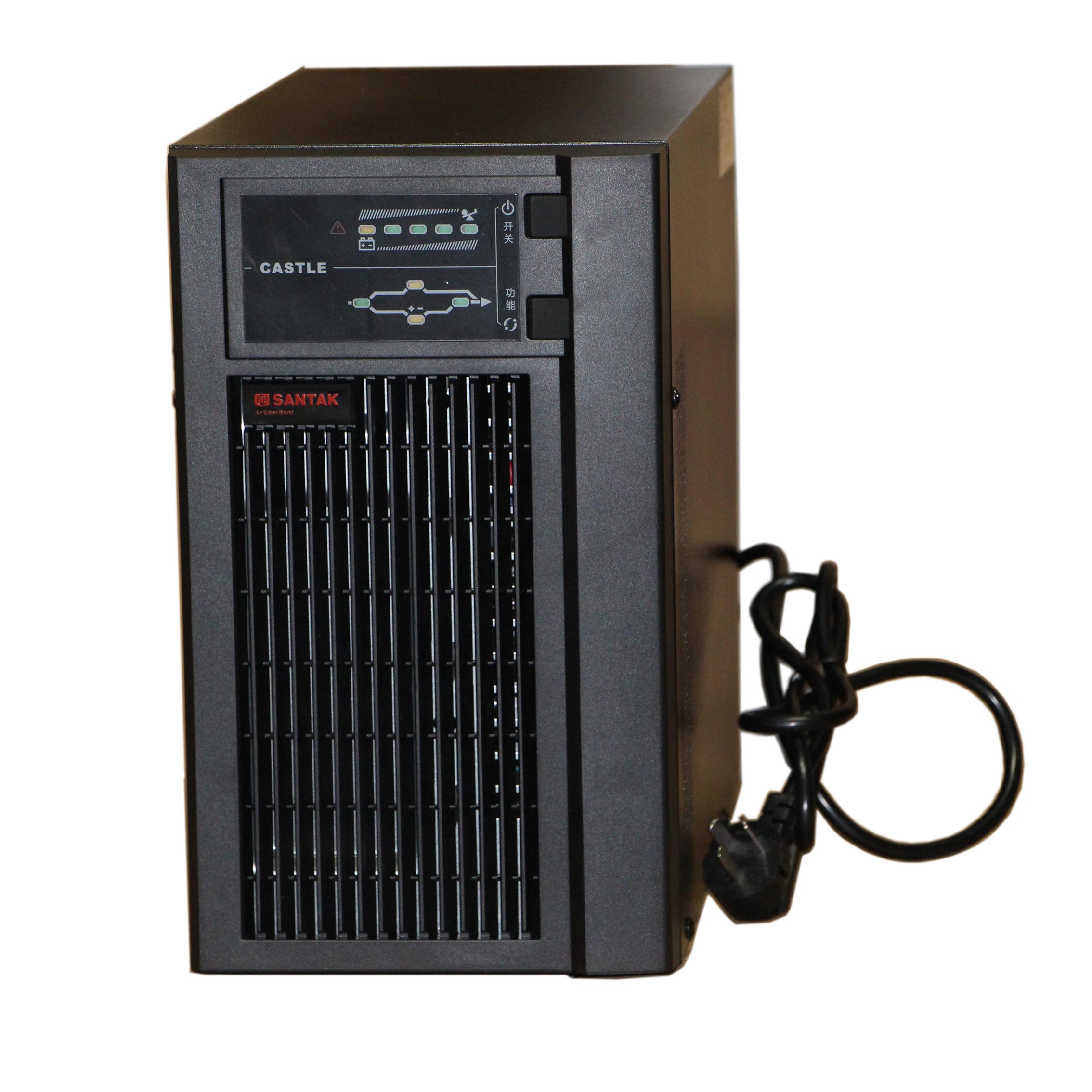 非常にくUPS絶えず調整電源2KVA予備遅延に時間C2KSホスト65AH電池ろくだけ