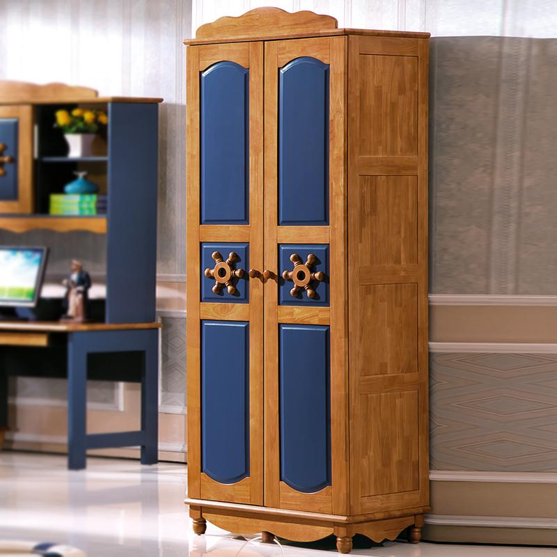Los niños de dos puertas de armario de tres puertas de madera maciza vestuario minimalista y moderna de 2 puertas 3 puertas de armarios muebles de dormitorio