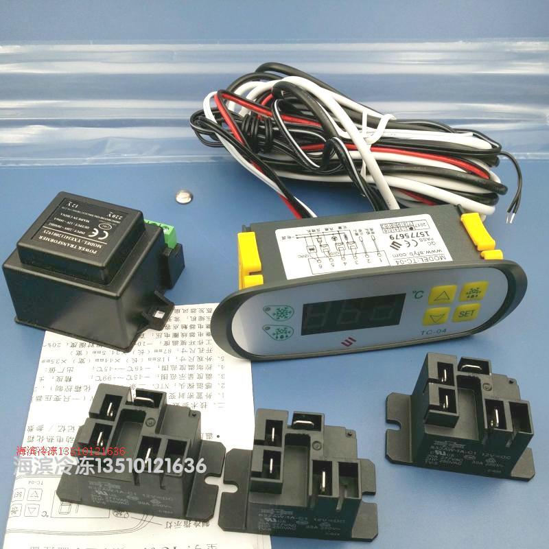 TC-04 الفريزر الثلاجة الالكترونية التحكم في درجة الحرارة وحدة تحكم في درجة الحرارة ترموستات تحكم الثلاجة JC-04 النجوم
