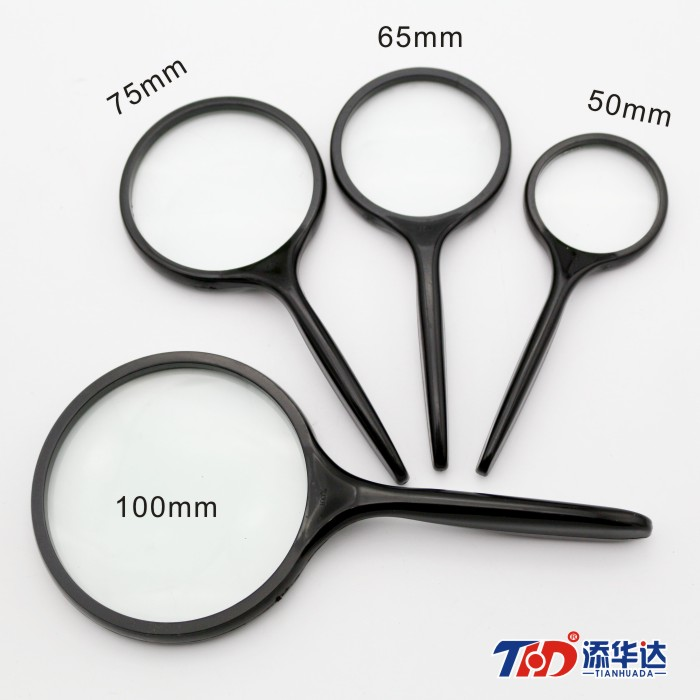 5 times high definition magnifier 100mm big lens old man reading and reading high times high definition gift handheld magnifying glass