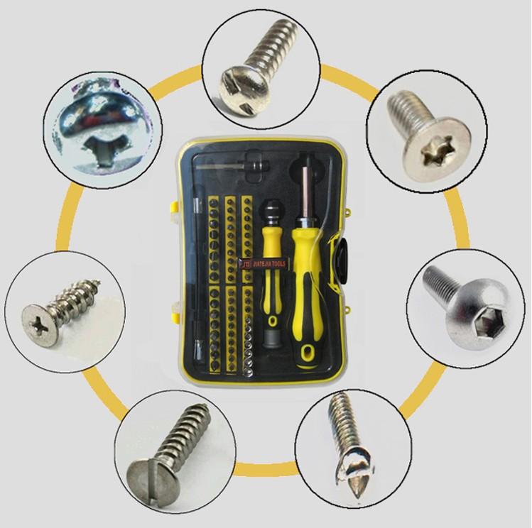 Multi - funzione la confezione contenente un cellulare a forma di riparazione di elettrodomestici, La combinazione di strumenti di Viti Lotto di cacciavite cacciavite cacciavite