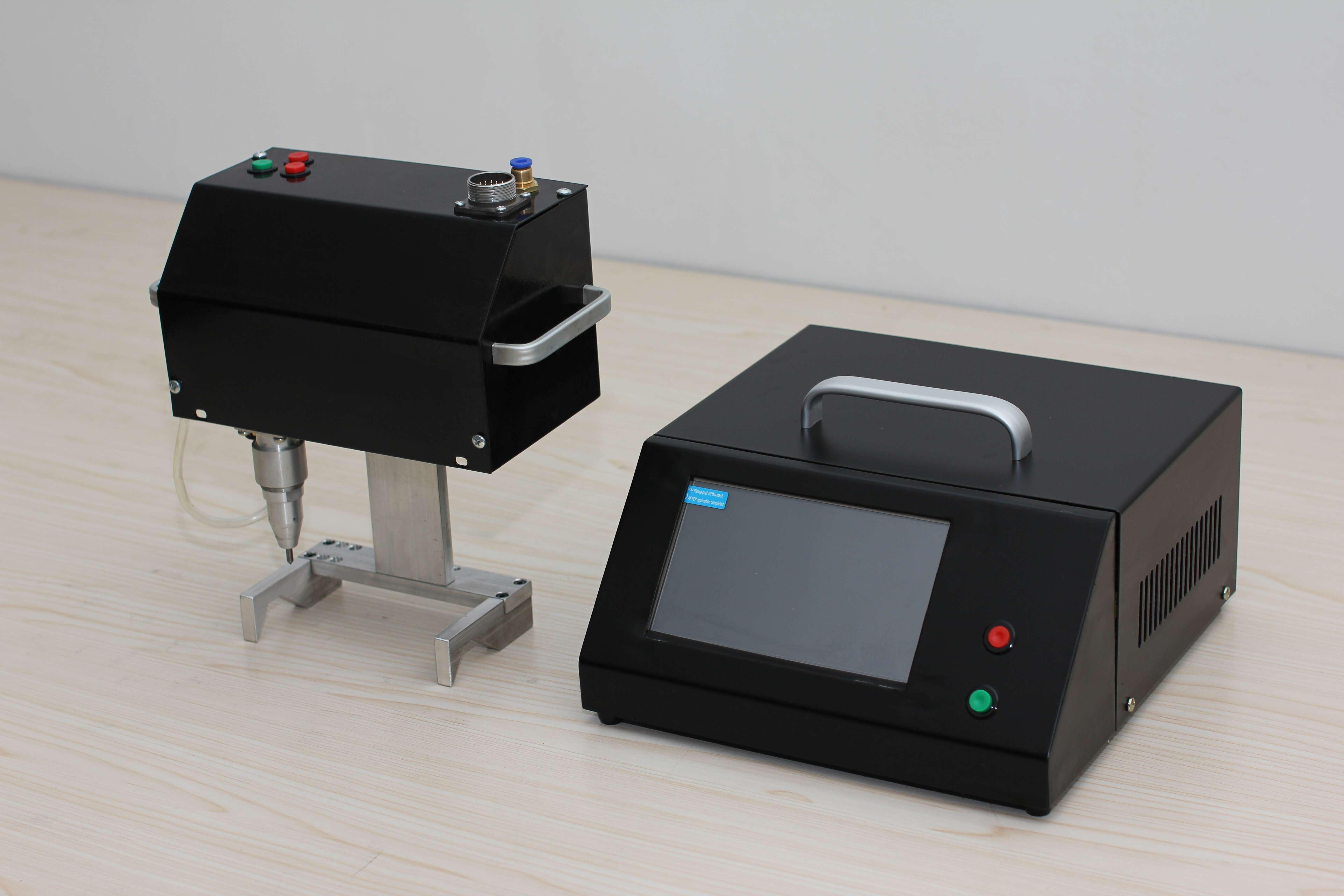 Shan xing fabrikanten printer pneumatische motoren van auto 's. De markering van draagbare machine.