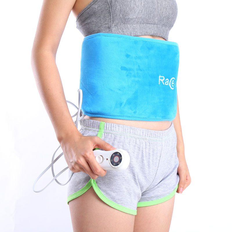 锐智暖かい宮ベルト月経腹巻護ベルトお腹が痛いです。宫寒生理痛電気加熱灸大きい叔母神器