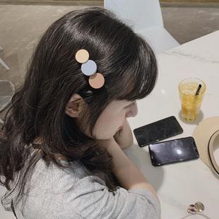 糖果饰日系简约刘海夹发夹发饰