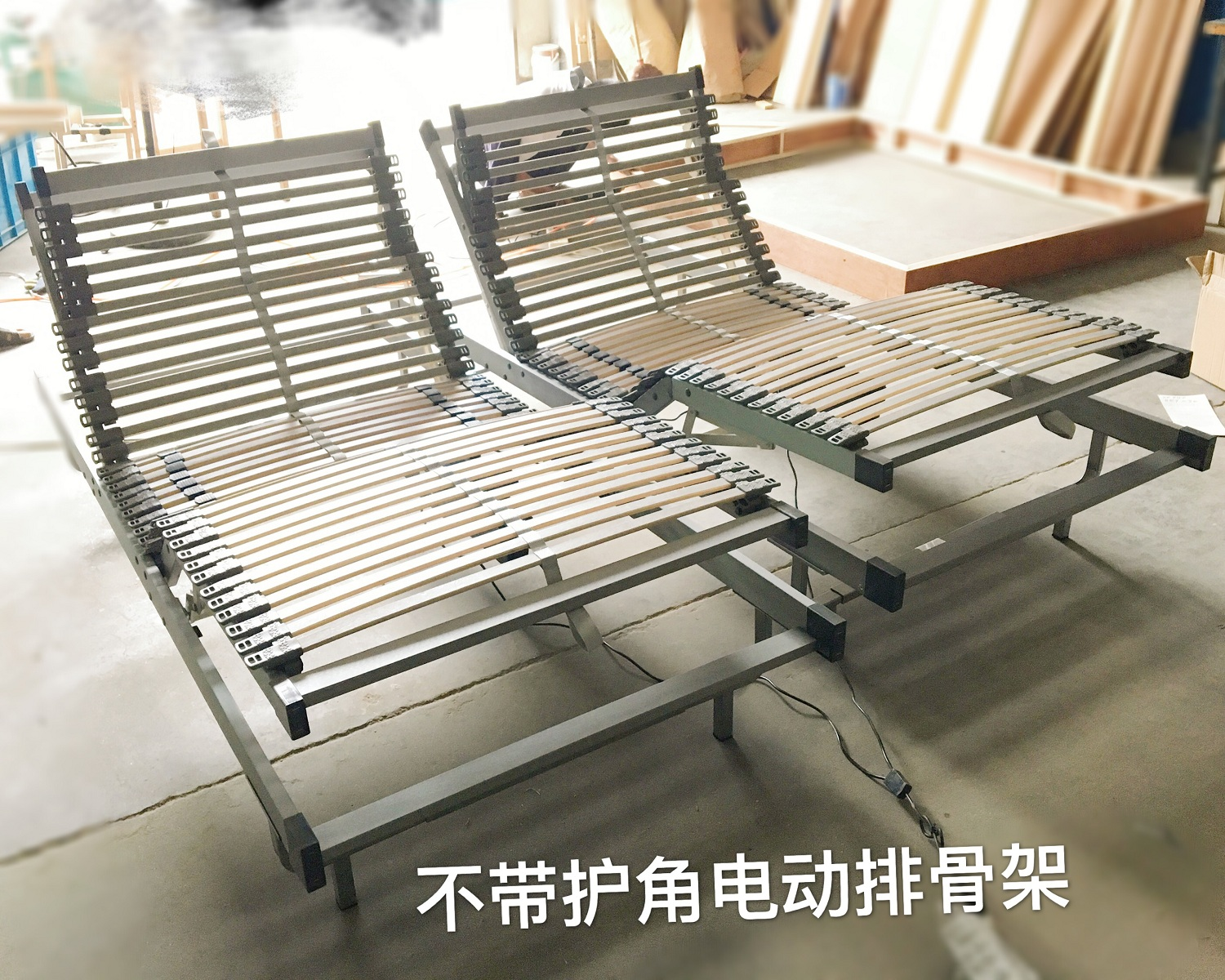 The valley Beth three color birch wood varnish cap full electric bedstead electric discharge skeleton manufacturers selling price