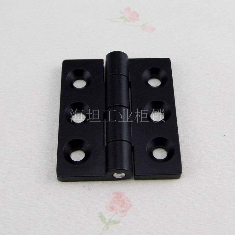 Porta de armário de distribuição de Energia JL235-2 Haitan verdadeira caixa dobradiça dobradiça de porta de armário 65*55 Preto Venda