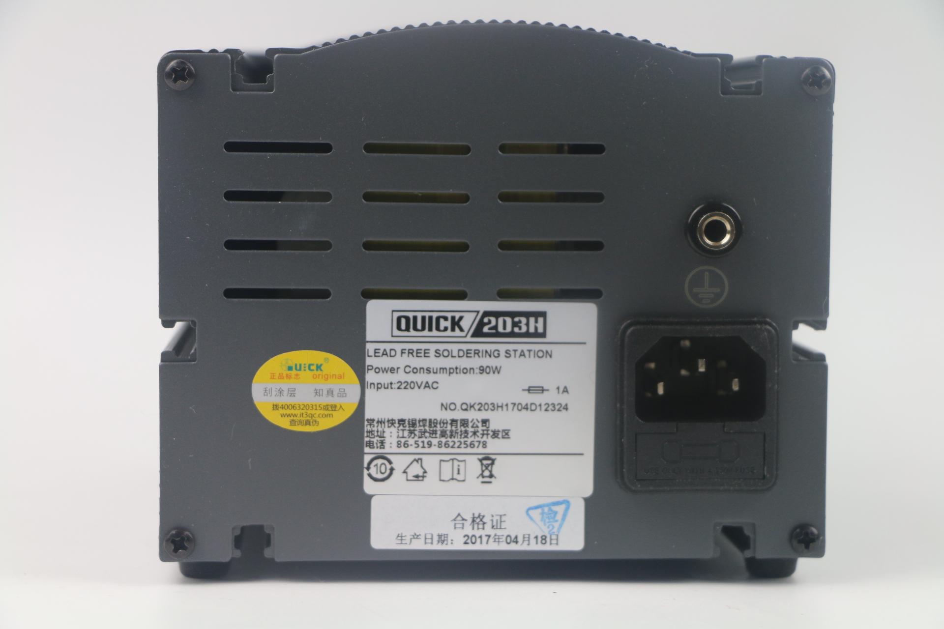 O termostato digital de Alta freqüência 203H rápido SEM Chumbo de estação de solda ferro de solda estação de soldadura de Alta potência de 90 m