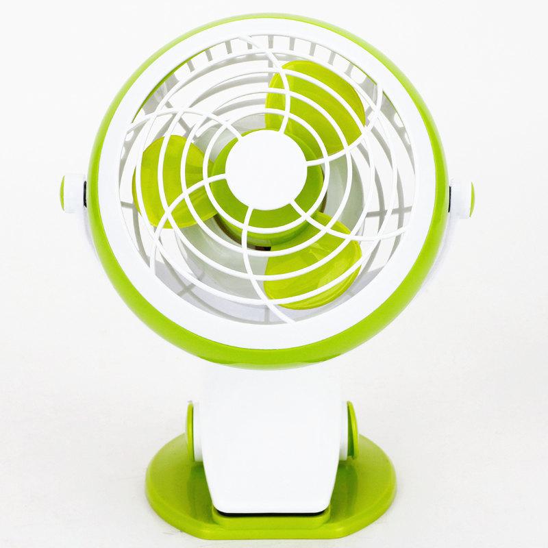 эффективные 3683 мини - usb станции клип 4 дюйма небольшой вентилятор 5 батарей мини - компьютер может клип может стоять электрический вентилятор