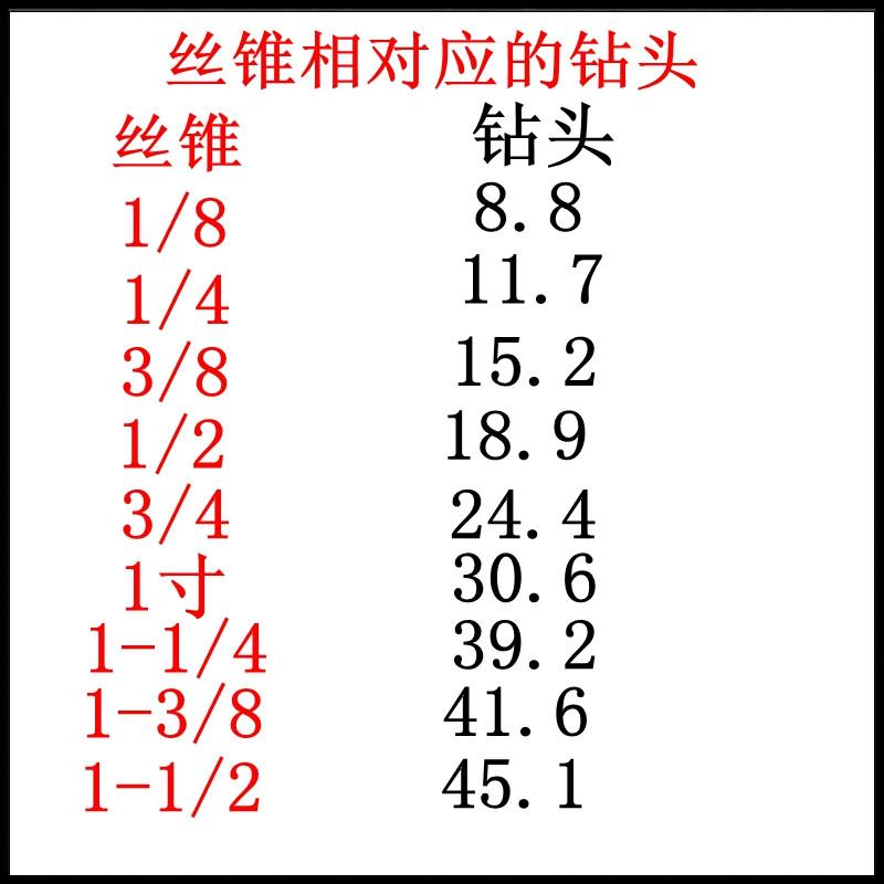шанхай 利南 технологический нить водопроводной трубы ZGZG1/161/81/41/25/83/41 дюйм