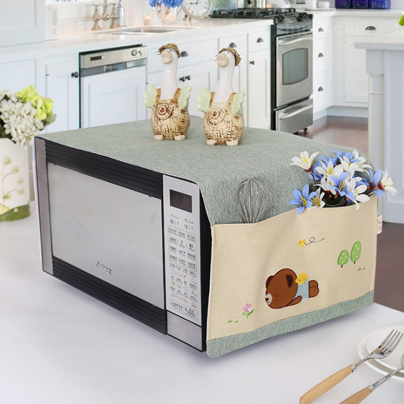 Galanz microwave oven Handai small fresh beauty mask cloth dust cover sweet adorable oven cover