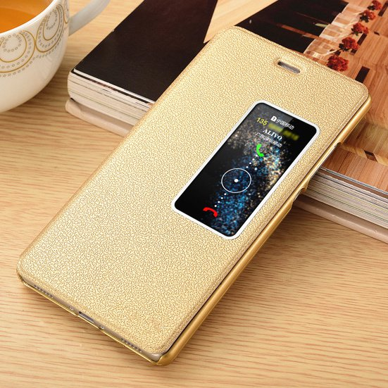 Huawei P8P9plusP10p9plus mobile phone leather side flip purse-style drop protection shell p10plus