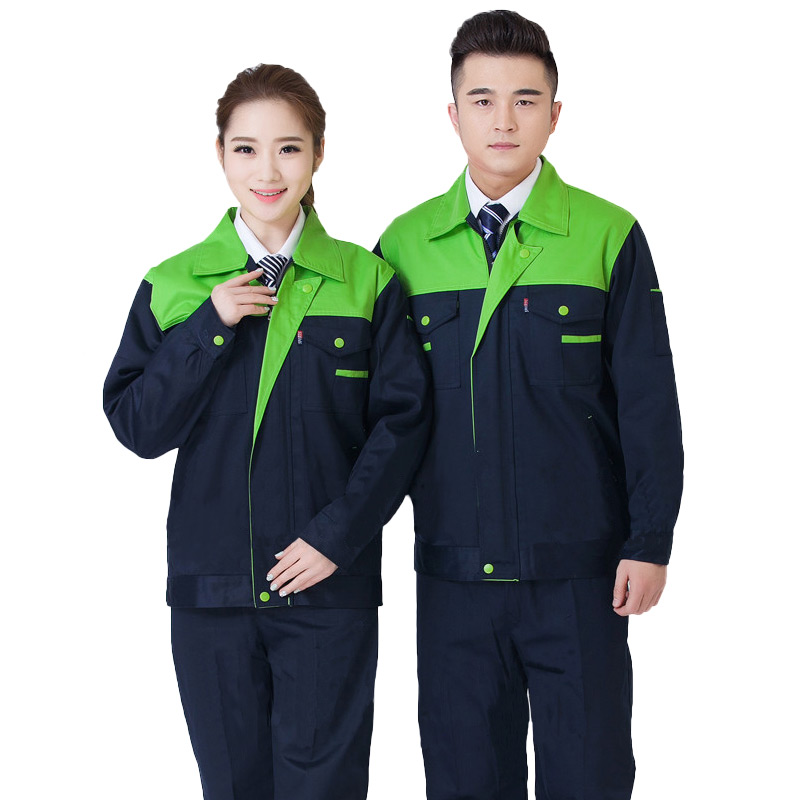 Overalls, men's wear spring long sleeve auto repair clothing, repair vehicle repair equipment, labor protection clothing workshop, factory overalls