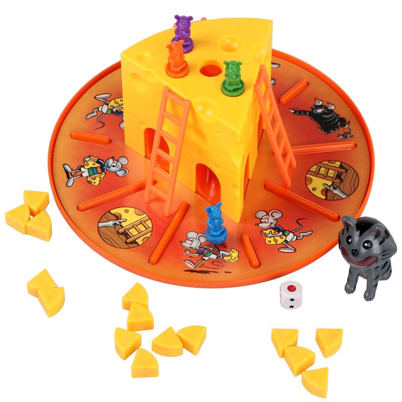 τα επιτραπέζια παιχνίδια το ποντίκι και η γάτα κέικ τυρί παιχνίδι συγγένειας εκπαιδευτικά παιχνίδια δώρο νηπιακή εκπαίδευση
