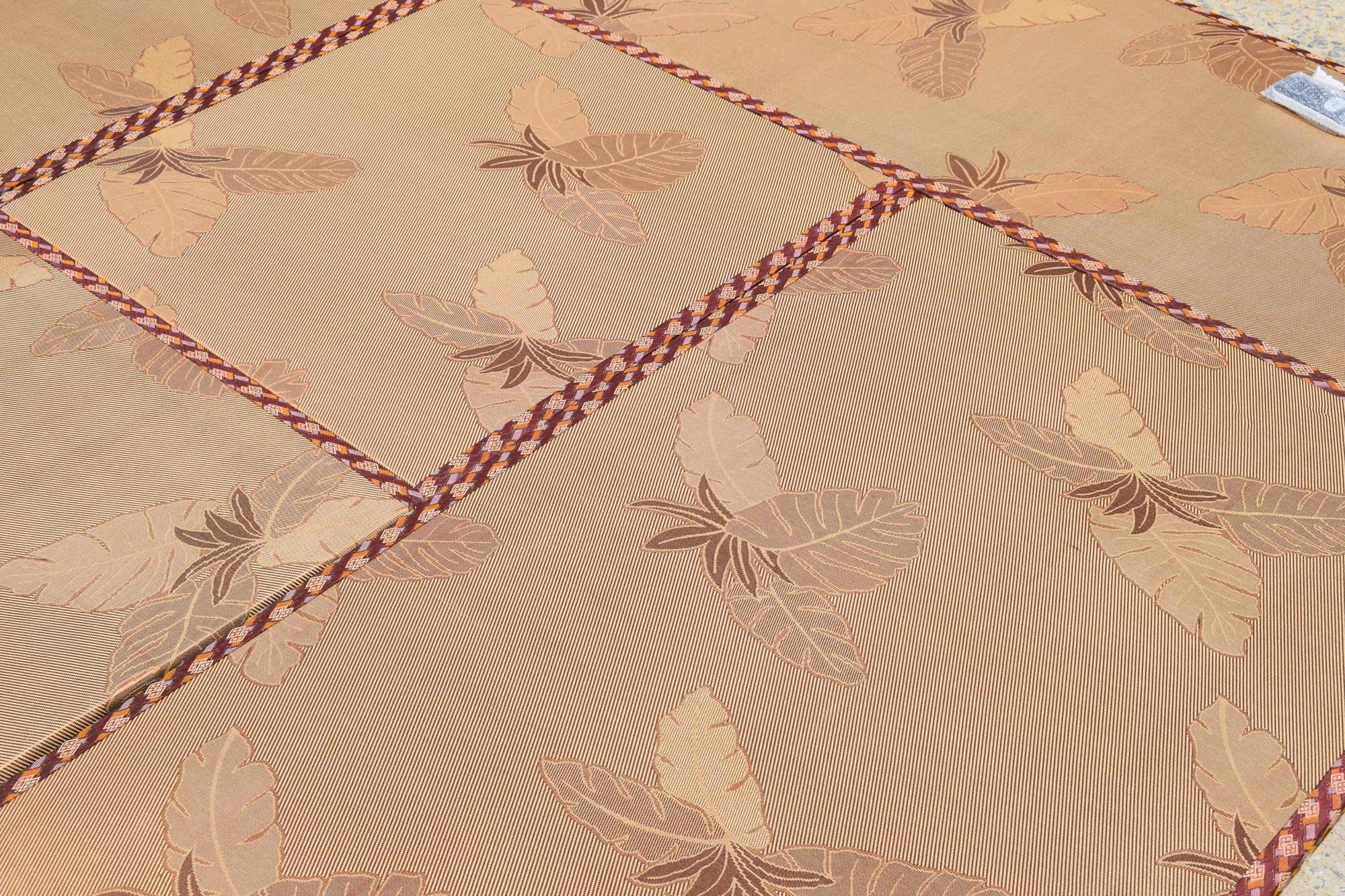 Japanese tatami mats and natural coconut palm mattress core Royal rattan mat straw mattress pad platform tailored