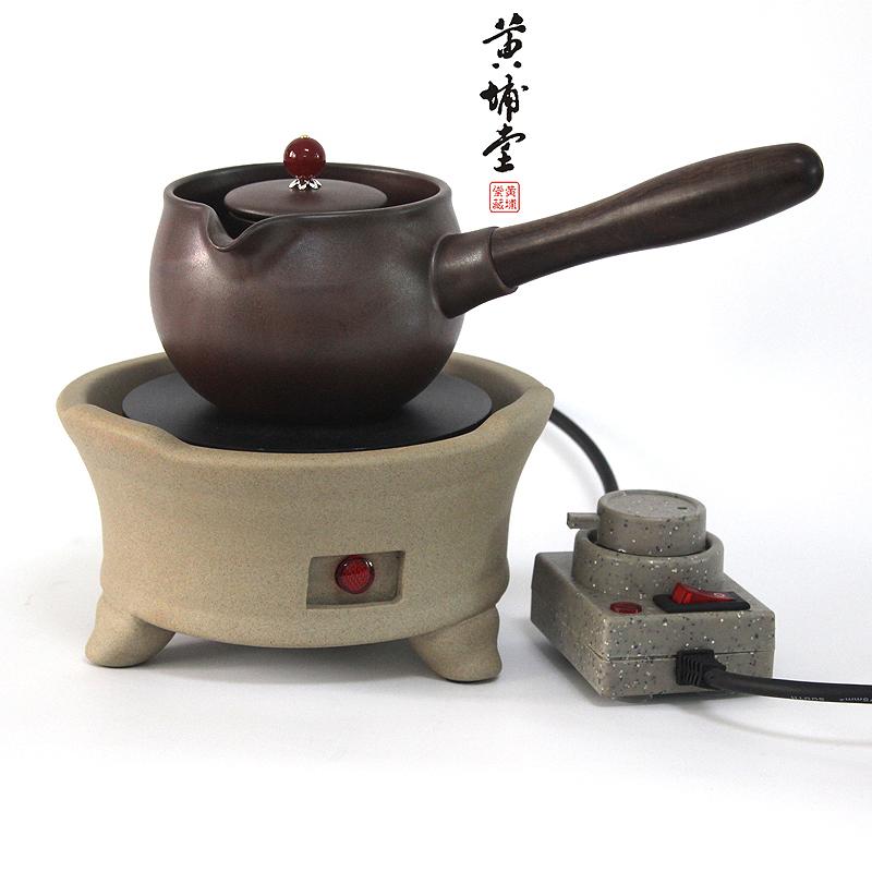 Hervir una tetera de té de ollas de barro de olla de agua hirviendo, la cerámica de Taiwán de té té la estufa eléctrica de cerámica
