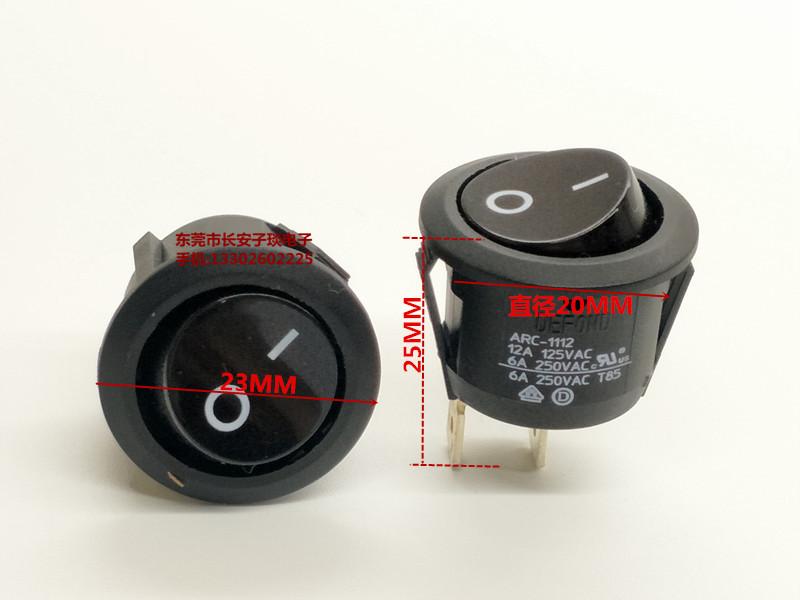 alla importerade wheelock ARC-1112 båt - 20 runda hål svarta knappen