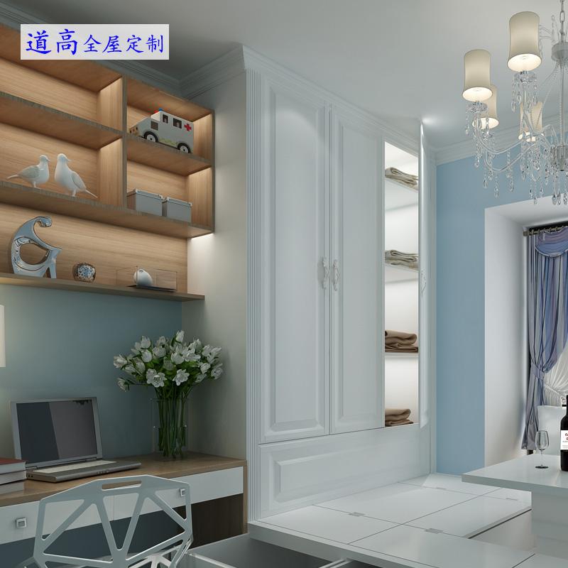 Shenzhen windows cabinet tatami bed European solid wood cabinet customized tatami platform customized windows storage