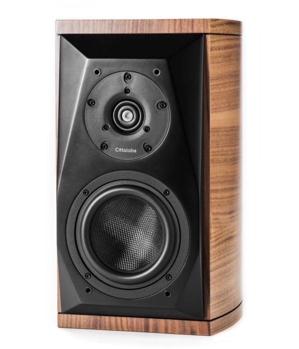 Three axis listening method Cittalabs Hi-Fi No. 3 Oriole line of authentic country wood Bookshelf Speakers