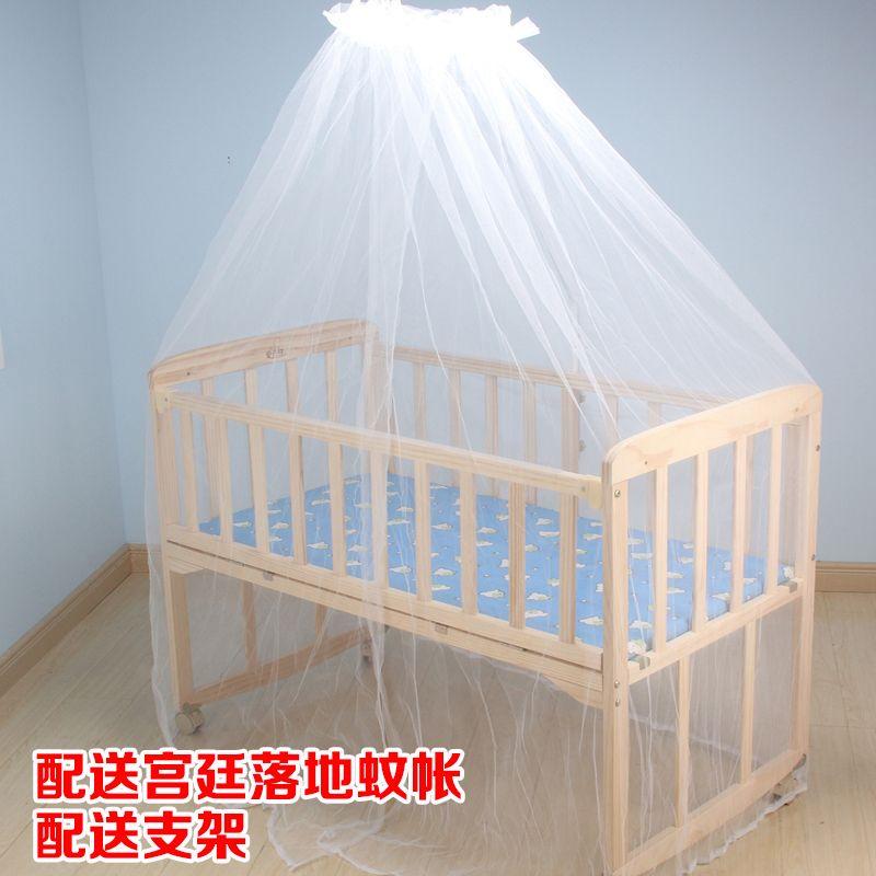 0 - 3 ετών μωρό κρεβάτι παιδιά κρεβάτι μωρό μικρό κρεβάτι μεταξύ γυναικών και ανδρών πραγματικό ξύλινο κρεβάτι χωρίς μπογιά με κιγκλίδωμα διπλωμένο σε γραφείο