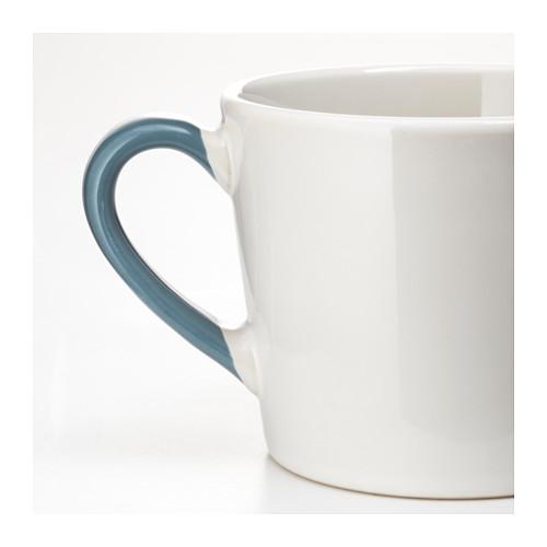 イケア国内代購フェン斯迪杯、白く、ブルー