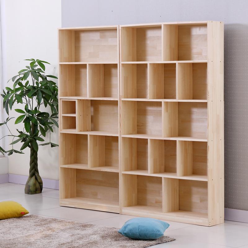 szafki, półki biblioteczki torbe z litego drewna w połączeniu z półki biblioteczki dzieci wolności. 1,8 m