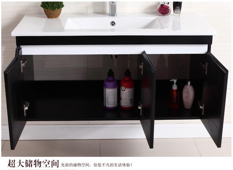 Armário armário de Carvalho banheiro minimalista Moderna móveis de Casa de Banho com lavatório de mesa fixa de lavatório bacia armário armário combinado