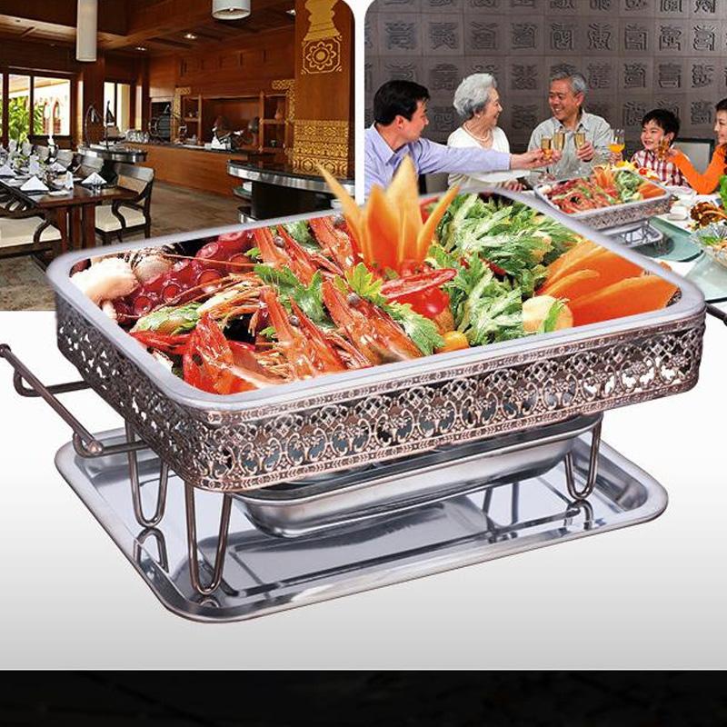 Đưa chiếc đĩa carbon thép không gỉ nướng cá nướng cá lẩu cá nướng cá nướng cá đặc biệt hình đĩa trùng khánh gói bưu