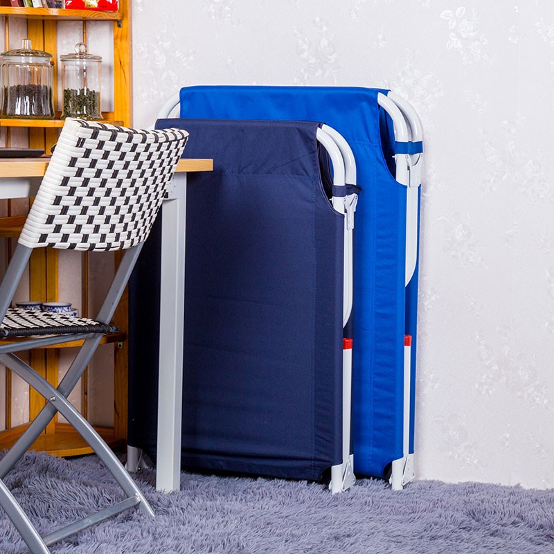 Folding bed, lunch bed office, simple folding chair, single lunch bed, nap chair, portable bed