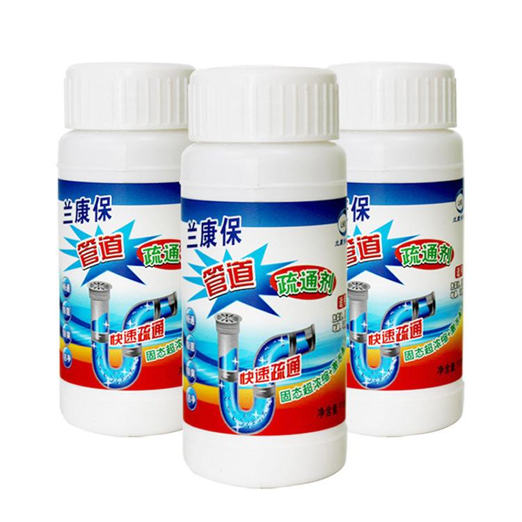 Las importaciones deboucheur cocina baño fuerte drenaje de tubería de atascos en el alcantarillado de pelo en polvo