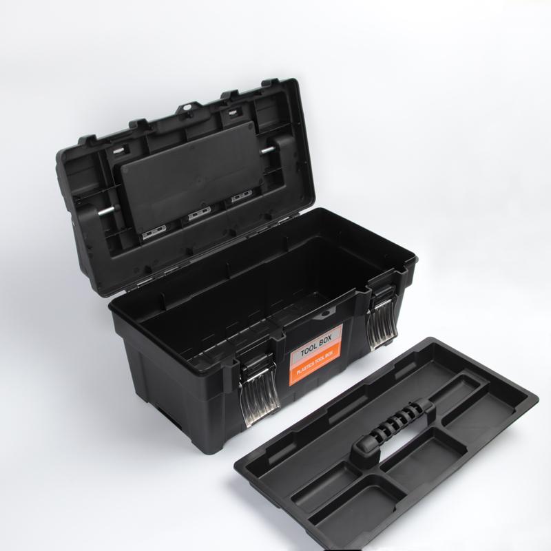 La scatola di Plastica degli attrezzi portatili Multi - funzione Anti - Tuba, domestico di strumento in scatola degli attrezzi da PESCA elettricista.