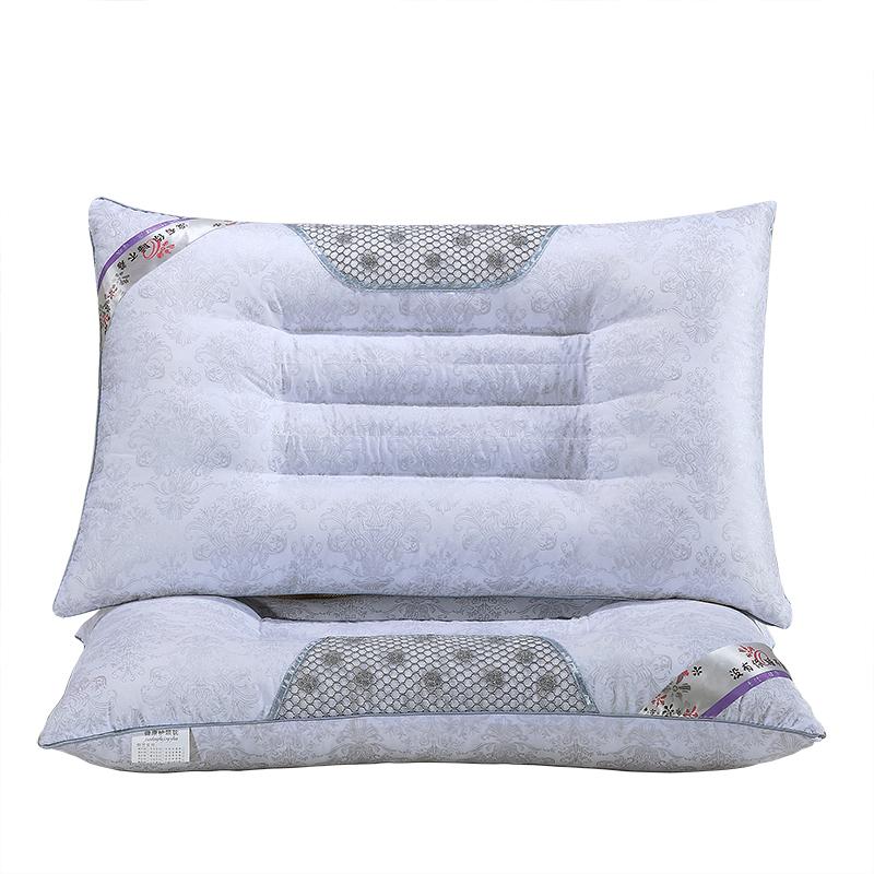 に入って規格品の磁力療法」ケツメイシ護頸椎枕枕ラベンダー蕎麦成人学生シングル枕