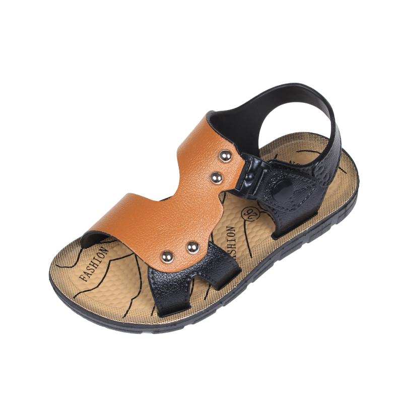 童鞋 男童凉鞋2017新款 儿童韩版小孩宝宝防滑软底小童凉鞋沙滩鞋