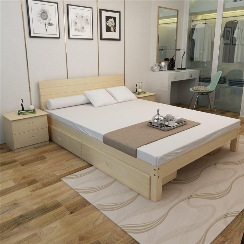 Holz, Harte matratze von 1,5 Meter - Bett 1,8 Meter doppel - Platte ein Bett tatami - Matten Betten