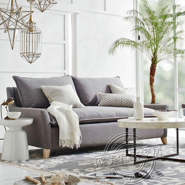 απλή σύγχρονη αμερικάνικη χώρα πτυσσόμενο καναπέ - κρεβάτι 1,8 m διπλό να μπορούν να πλένονται στο σαλόνι το μικρό μέγεθος του καναπέ - κρεβάτι.