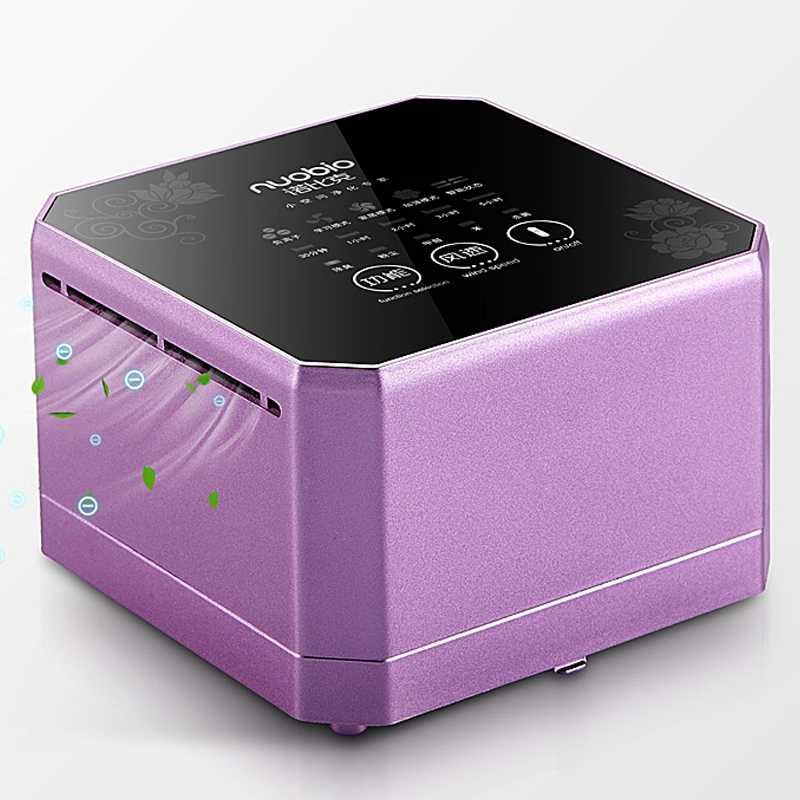 Desktop Mini purificador de ar do quarto interno para remoção de formaldeído de Fumo de segunda mão Mini anion oxygen bar