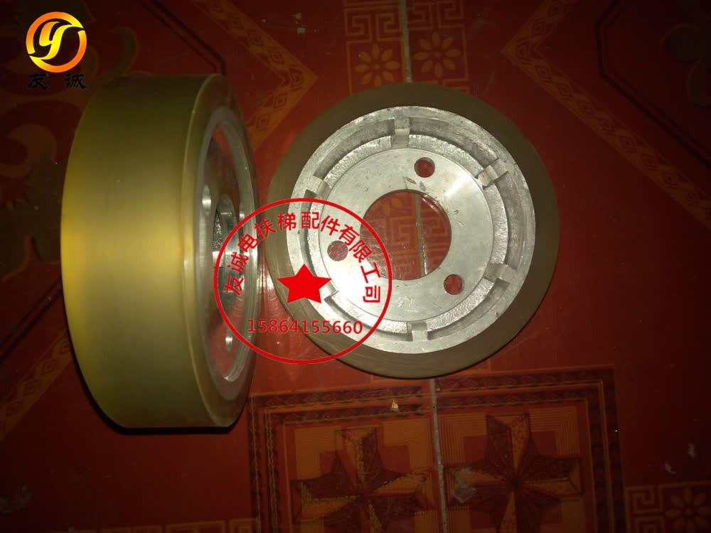 La roue d'entraînement de l'ascenseur Otis / de la roue d'entraînement d'escalier mécanique / Otis la roue d'entraînement de la roue de friction 131 * d'épaisseur 30 * 44