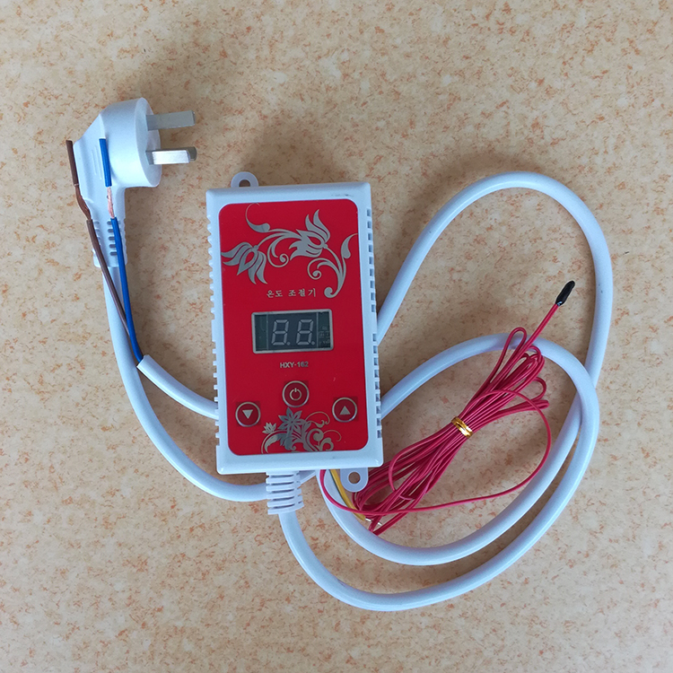 Electric heating film, geothermal heating, electric floor heating, temperature control switch, electric heating temperature controller, double control electric heating kang temperature controller
