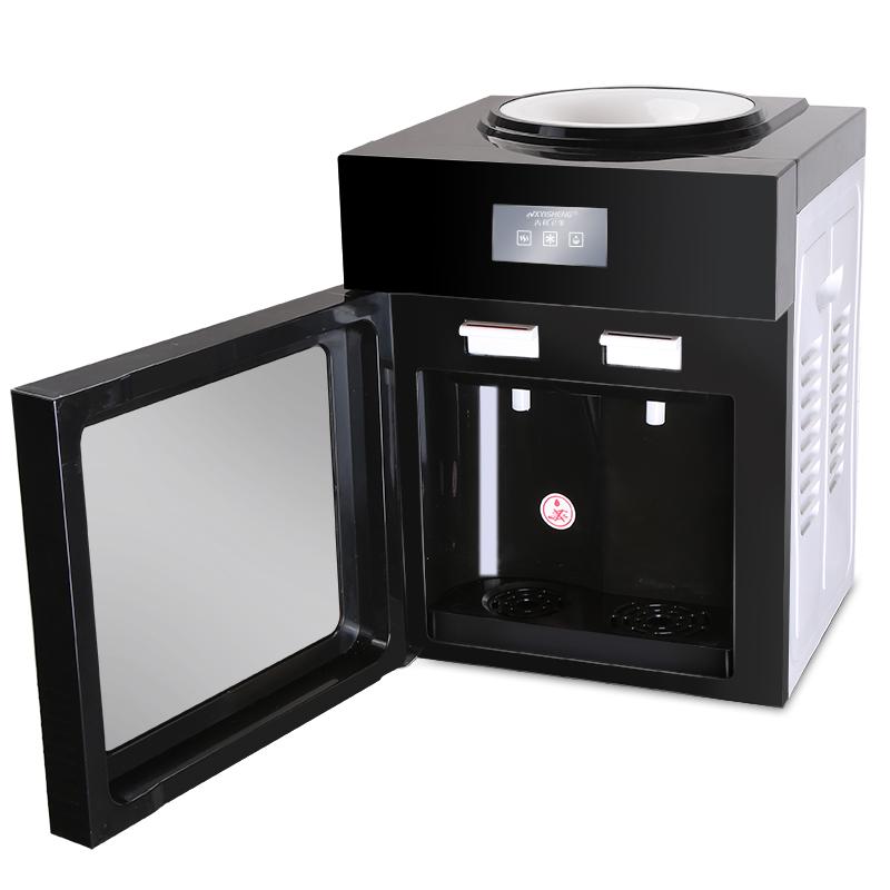 Πότης επιτραπέζιους μίνι κάθετη ψύξης θερμότητας θέρμανση πάγο μικρών οικιακών γραφείο ζεστό νερό)