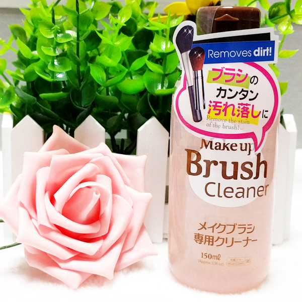 Japan DAISO Dachuang makeup brush brush cleaning agent special cleaning liquid 150ml on washing powder