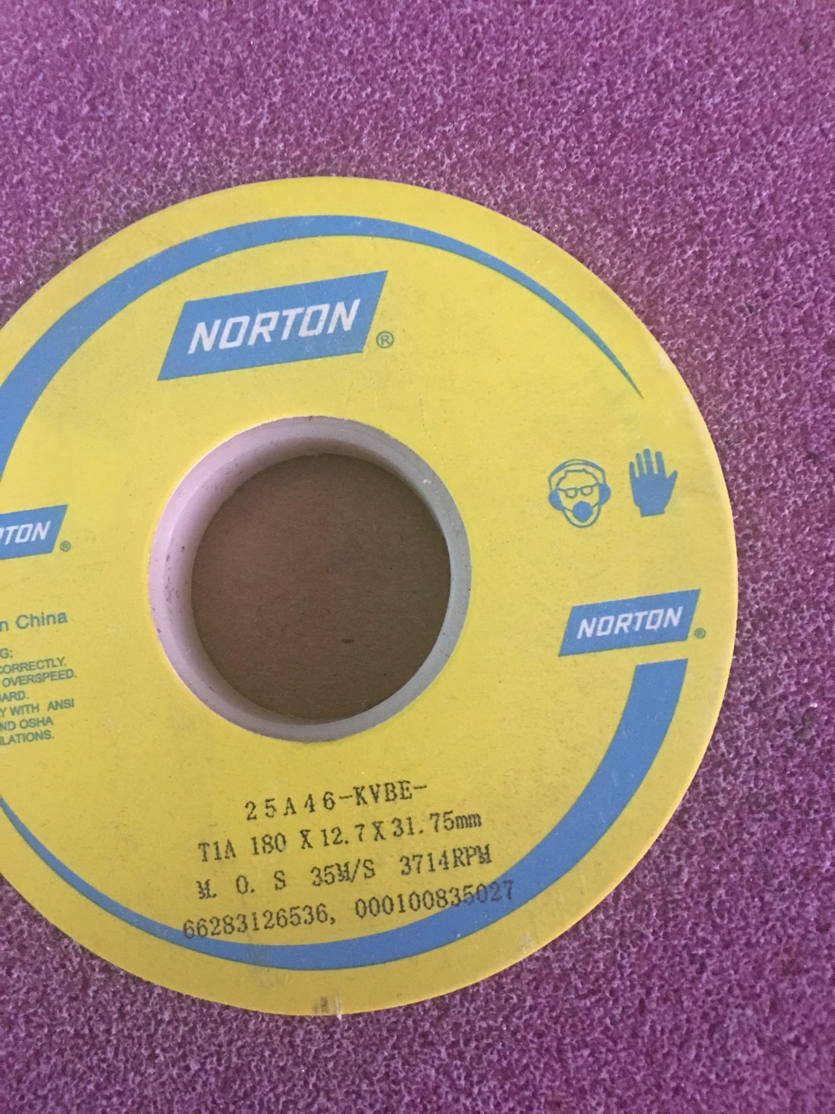 Norton rad, Saint - Gobain schleifmaschine MIT roten rad 25A180X12.7X31.75mm Korund