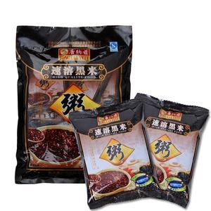 唐纳兹营养方便速食早餐点心代餐甜味黑米粥400g*3袋(共24小包)