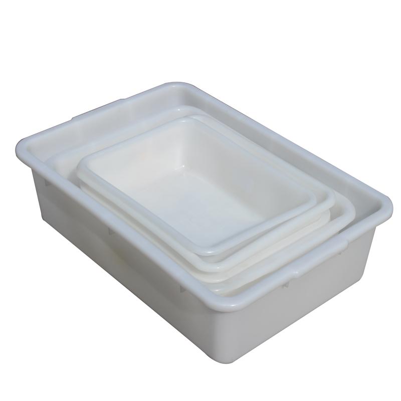 en liten vit plast i form av en hög kultur industrin stora djup utan att täcka en del av fält tjock skiva av plast.