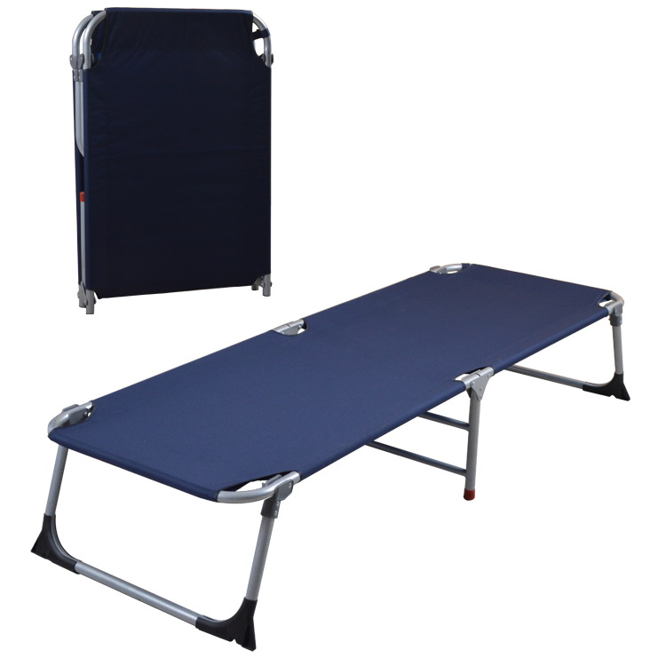 Nap bed, canvas folding bed, single invisible bed, office lunch bed, metal accompanying bed, marching bed, simple bed