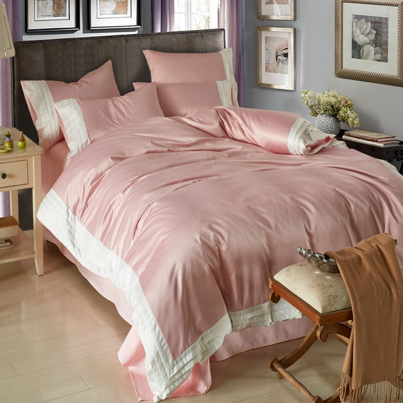 The summer of four pure silk quilt washed cotton quilt bed double spell Tencel bedding special offer