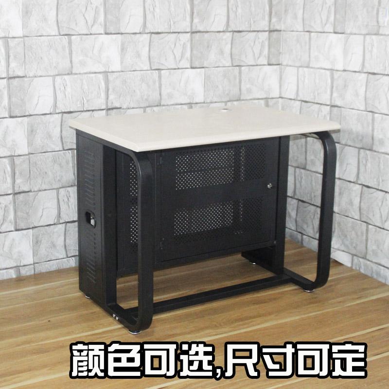 コンピュータオフィスデスクベッドルームとしては、防火板のデスクトップメタルフレーム