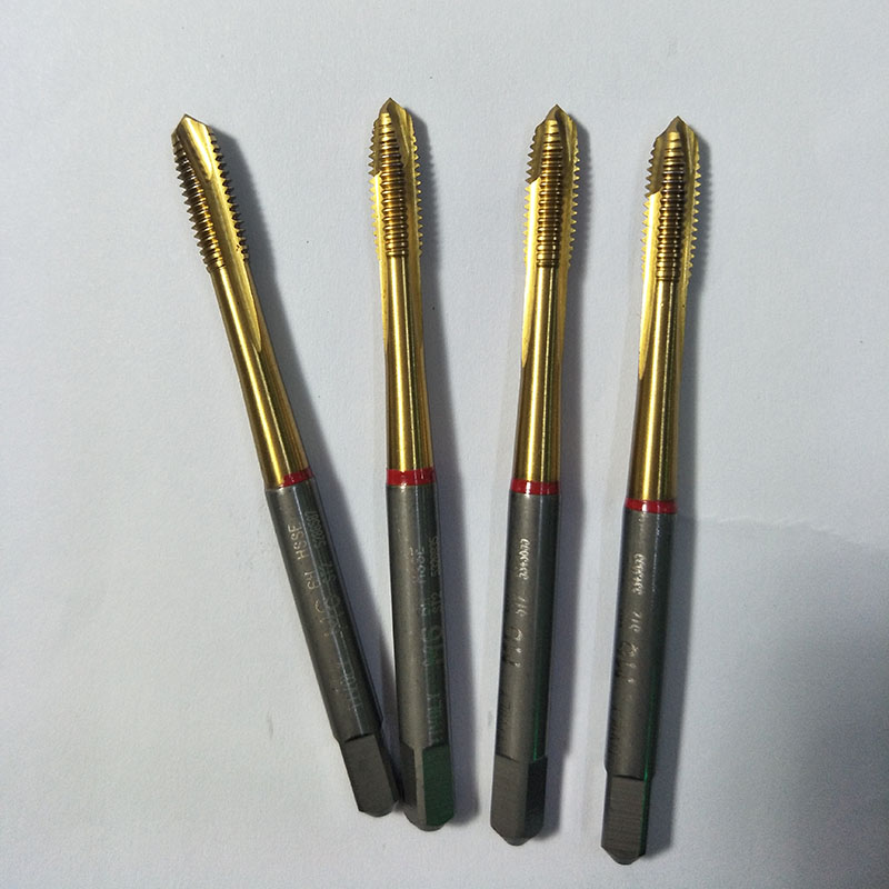 M6x1-ST2-6H-HSSE cobalt high speed steel tap tap TIVOLY super hard ti imported second-hand machine