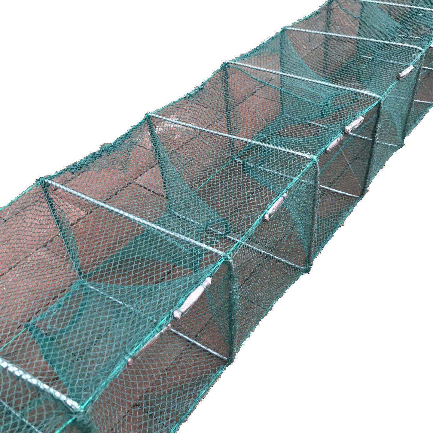 Gabbia di PESCA di gamberi di gamberetti aragosta Rete Rete gabbia Loach gabbia gamberi di Fiume Anguilla gabbia granchio gabbia completamente Automatico flessibile della gabbia